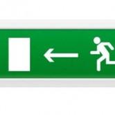 ОПОП 1-8 табло световое Бегущий человек стрелка влево